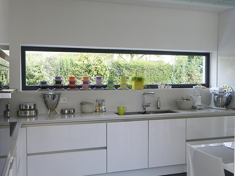 Küche in einem Neubau